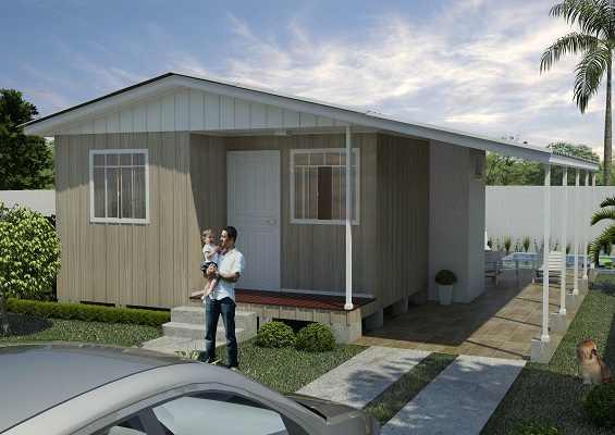 casa de madeira pré-fabricada copenhague