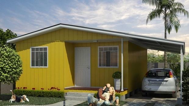 como contruir uma casa de madeira